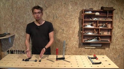 Copain des copeaux videos formation bois 2011 construire un tabli 1i re - Fabriquer son etabli en bois ...