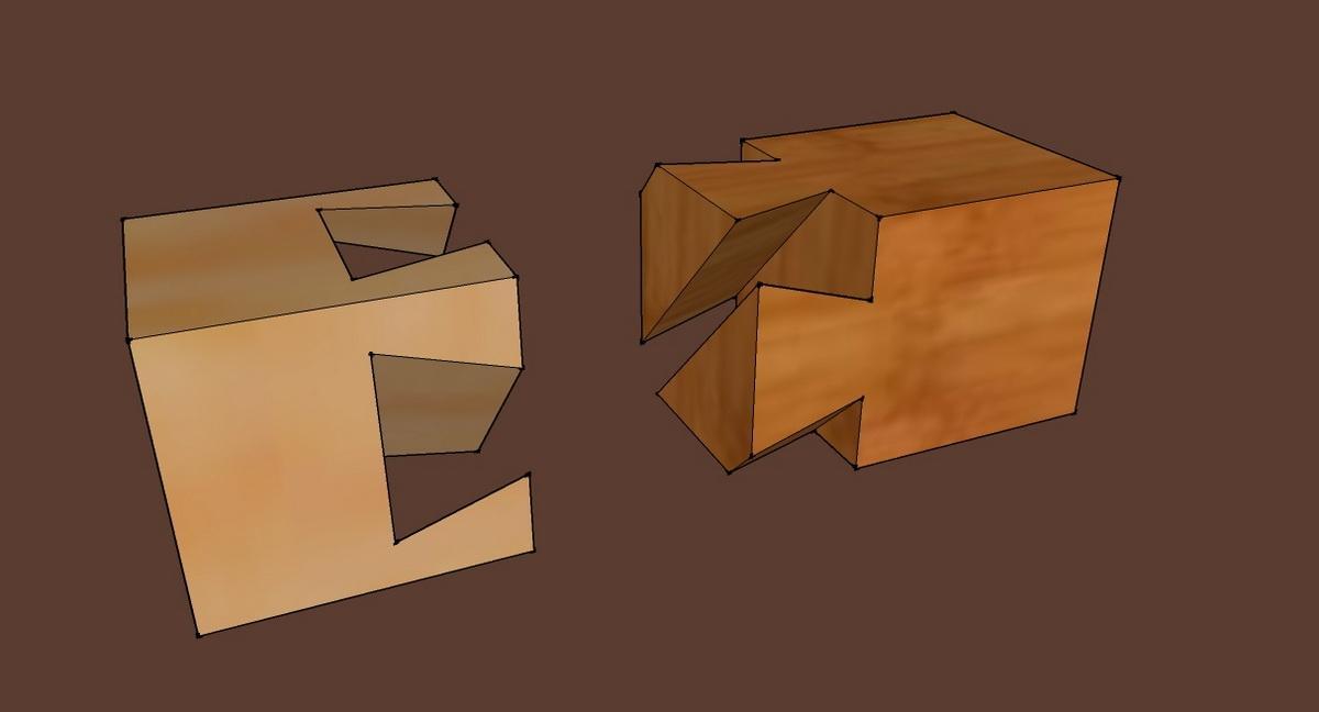 copain des copeaux articles 2010 d fi assemblage. Black Bedroom Furniture Sets. Home Design Ideas