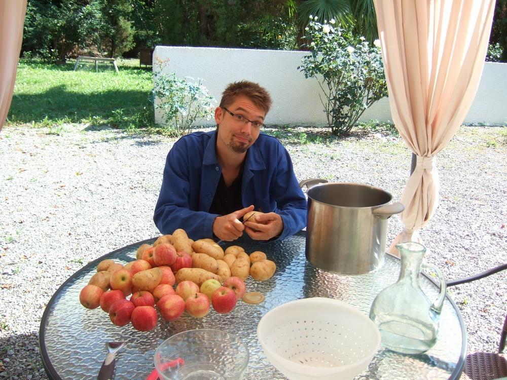 Copain des copeaux articles de menuiserie 2012 repas for Idee repas entre copain