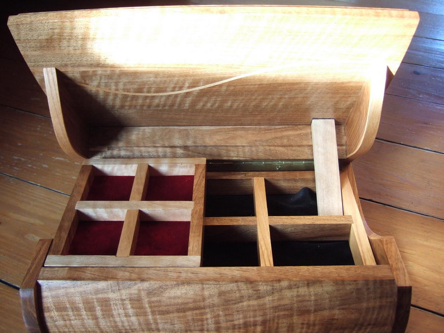fabriquer boite bijoux en bois